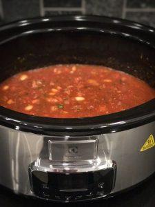 Chili Con Carne haudutettuna