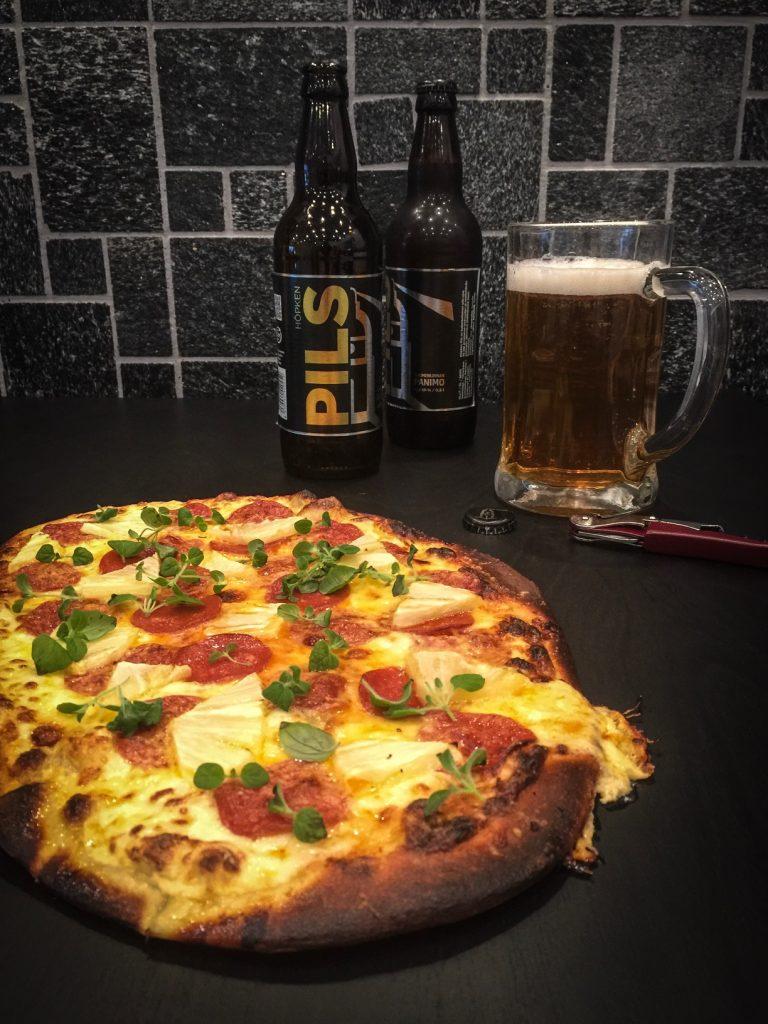 Mexicana pizza joka sopii oluen kanssa