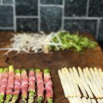 Ainekset herkulliseen parsasalaattiin